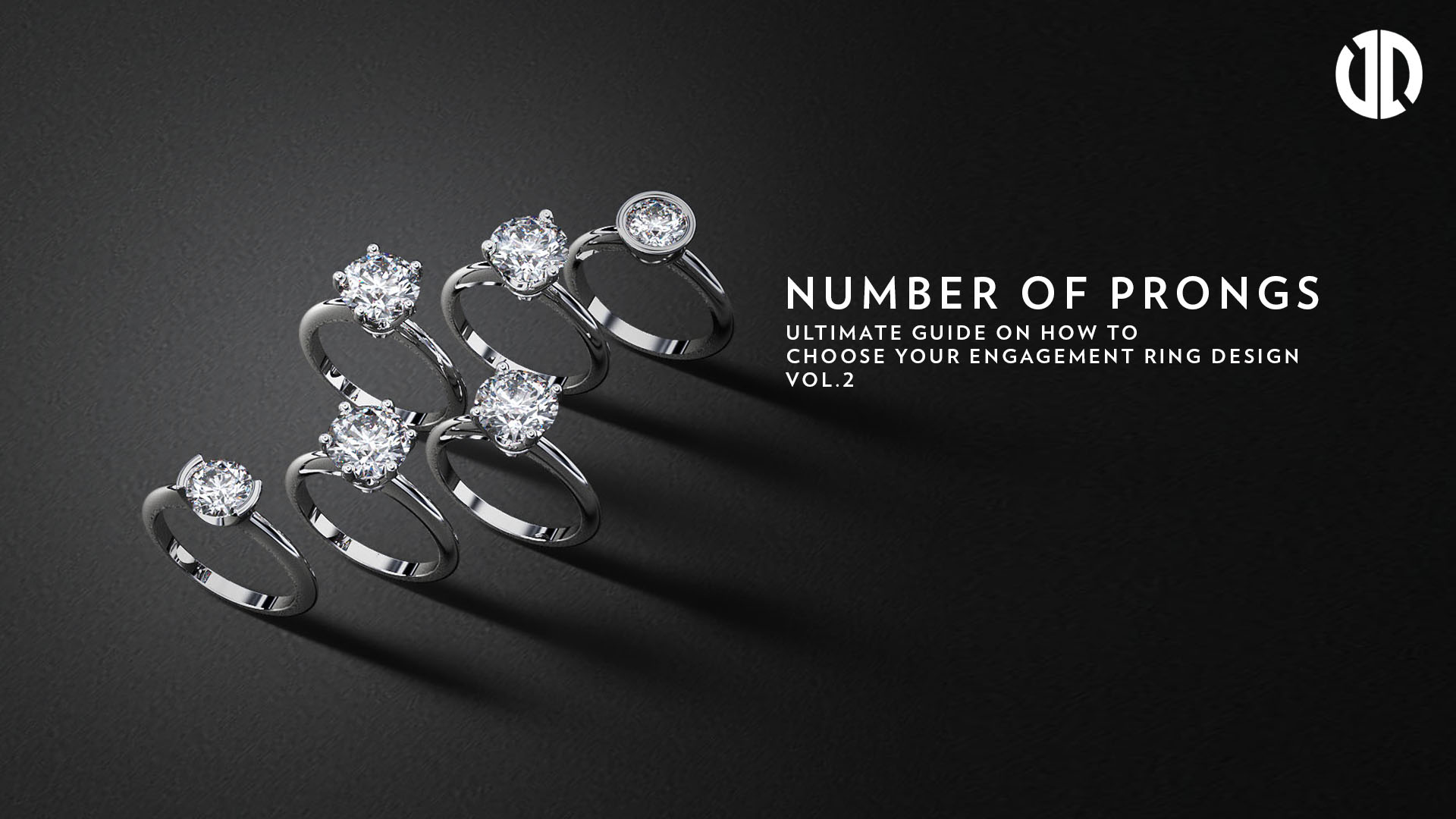 How to Choose your Engagement Ring Design (Part 2 - Number of Prongs)
